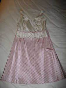 Pastel Pink Skirt w/ Top 2-Piece Outfit