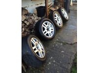 ALLOY WHEELS FROM GOLF GTI MK4