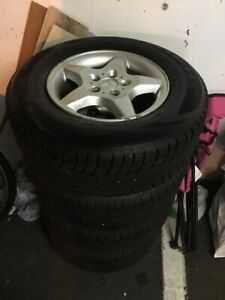 WINTER TIRES for SUV .  (Abbotsford)