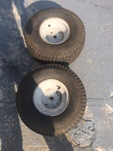 2 tractor tires 20x8
