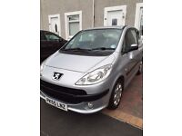 Peugeot 1007, 1.4, Silver, 2005, 2 Door, 4 Seats, Immaculate. Clydebank.