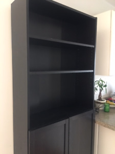 Black/Brown Billy Bookcase For Sale!