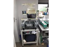 Toyota 12 Needle Industrial Single Head Embroidery Machine (2 available)