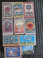 17 vintage Match Boxes  $2.00 each or $30 for all