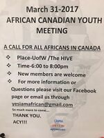 African Canadian Youth meeting