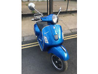 2015 ABS Piaggio Vespa GTS 300 gts300 Super in Blue great condition