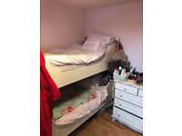 GLTC Off white bunk beds - fab condition