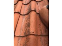 Pan Clay Tiles Great Condtion