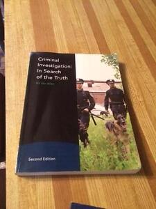 Criminal Investigation: In Search for the Truth