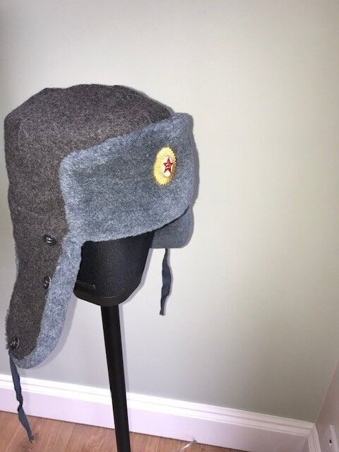 726d7a773f186 Authentic Russian Army Ushanka Hat