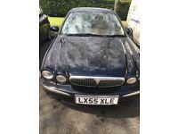 Jaguar X-Type 2.0 D SE 4dr . Black Good Condition, Diesel, Manual, 1998cc, Manual,MOT24/ Nov 2018.