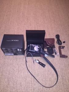 Modern digital - Fuji FinePix X100 camera
