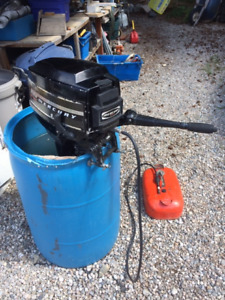 For Sale:  9.8 hp Mercury Long-shaft outboard engine