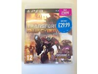 PS3 Game *Transformers - Fall Of Cybertron* Excellent Condition With Manual