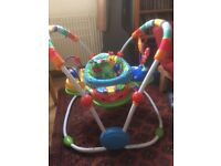Baby Einstien bouncer: with sounds and lights. Adjustable.