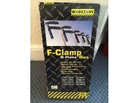 F Clamp 5 piece set