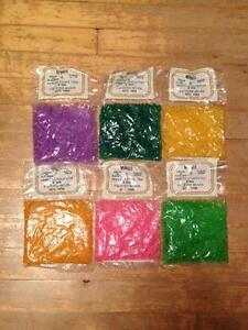 For sale: Faceted Beads (6mm)/A vendre: Perles a facette (6mm)