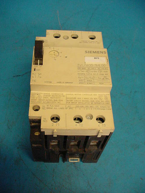 Siemens Motor Circuit starter protector  Free Shipping