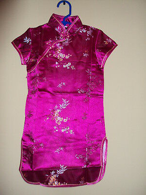 Asian Girl Halloween Costume (Halloween Costumes Girls Asian Silk Dress US)
