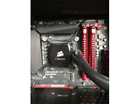 High-end Gaming PC - SLI 970's - i5 4670k with water cooling - 16gb ram - 2x 256gb REDUCED FROM 900
