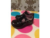 Girls infant shoes - size 3 and 1/2 'f'