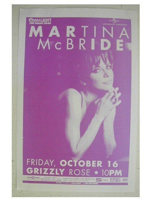 Martina Mcbride Handbill Poster Great Shot