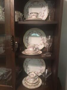 Royal Albert Dimity Rose Dinner Collection