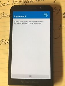 BB Z30 unlocked Mint Condition no chargers