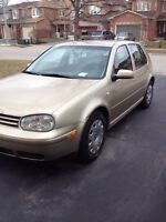 2003 Volkswagen golf 2 L