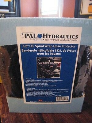 New Pal Hydraulics 58 I.d Spiral Wrap Hose Protector 25