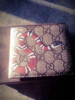 Gucci kingsnake wallet. Quality copy.