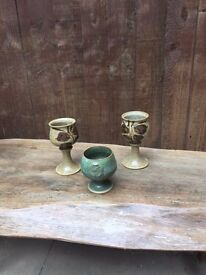 medieval drinking goblets