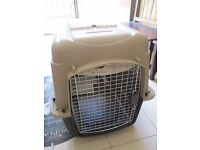 Petsmart dog travel crate, large, used once, airline approved, very good condition