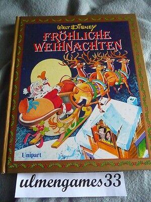 WALT DISNEY Unipart 1991★Fröhliche Weihnachten Geschichten Micky Pluto Zwerge ★