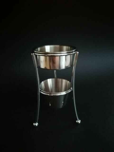 Stainless steel Butter melter - warmer set.