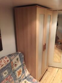 ANEBODA Wardrobe Beech wood color good condition
