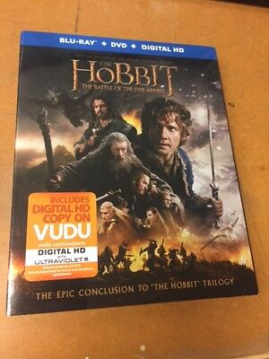 The Hobbit - The Battle of the Five Armies (Blu-Ray + DVD + Digital