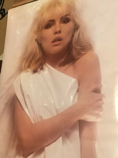 STUNNINGLY BEAUTIFUL 1978 ORIGINAL BLONDIE DEBBIE HARRY POSTER RARE