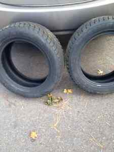 2 -  Winter Tires 205/55R16 - Used