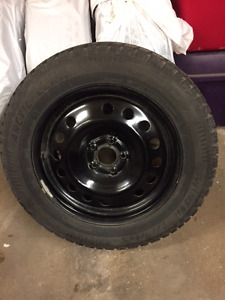 "17"" Snowtires and Rims"