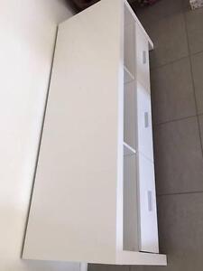 White Entertainment Unit - Lowline 150cm Thornton Maitland Area Preview