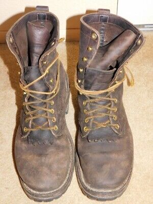 WHITES HATHORN LEATHER BOOTS Size 10D
