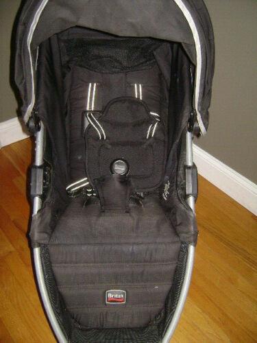 Britax B Agile Single Stroller SLING, CANOPY & BASKET BLACK Replacement Part 02