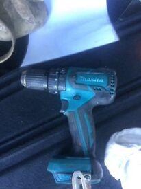 Makita 18v combi brushless drill