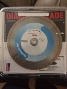 NEW MK Diamond Wet Cutting Blade 7 inch