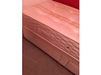 Single divan bed from Grove bedding