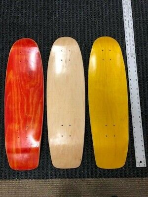 "SKATEBOARD DECKS, 8.375"" x 28.5"" Cruisers (3 Pack) USA made ($11.99 each)"