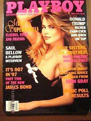 Playboy magazine May 1997 DONALD TRUMP -NEAR MINT