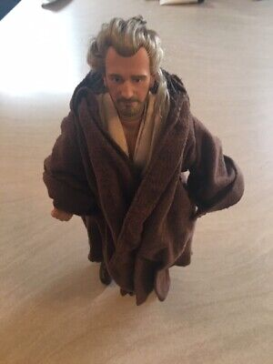 QUI GON JINN STAR WARS ACTION FIGURE 12 INCH MODEL - LOWEST PRICE ON EBAY!!!!