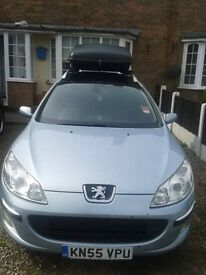 good condition peugeot 407sw estate family car